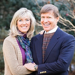Dr. Clayton McCarl and his wife Lisa