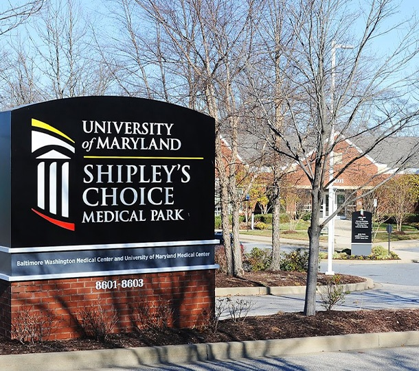 McCarl Dental Group at Shipley's Choice outdoor sign