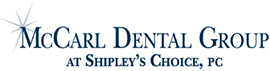 McCarl Dental Group at Shipley's Choice logo