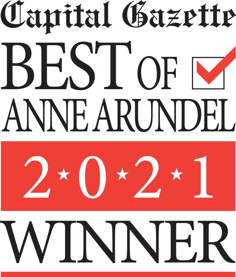 Graphic that details the Best of Anne Arundel Winner